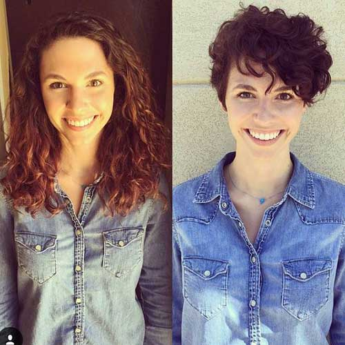 15 Pixie Cuts For Curly Hair