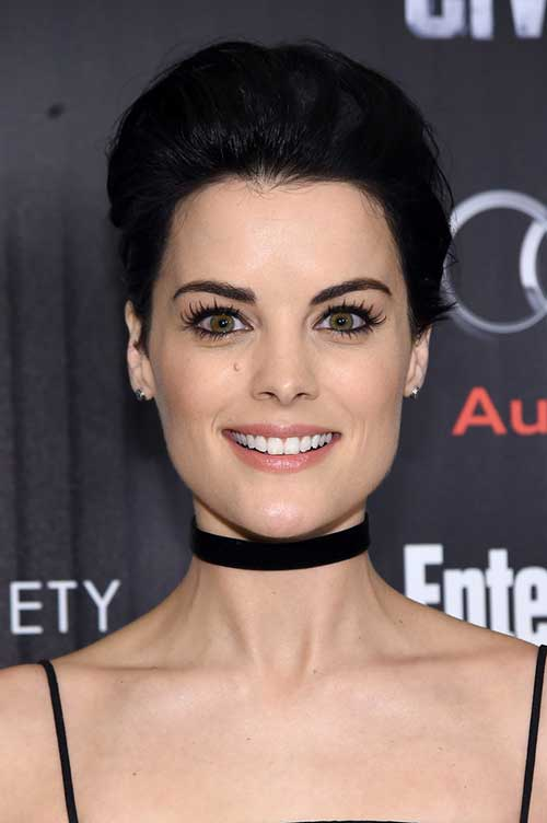 Jaimie Alexander with Short Hair