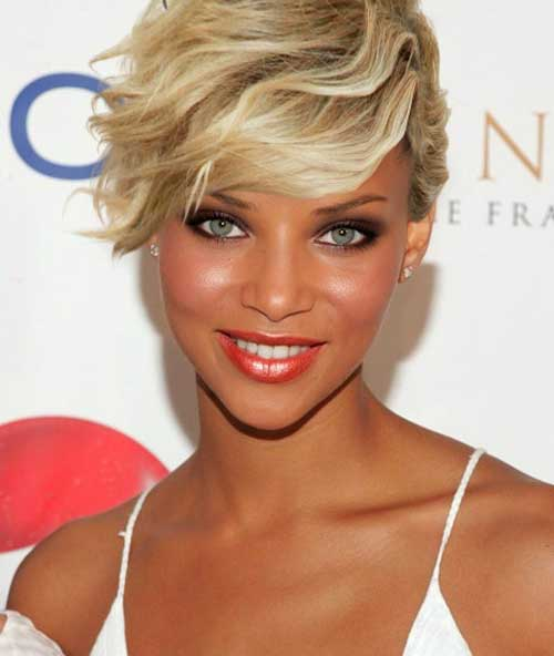 Denise Vasi Short Haircut