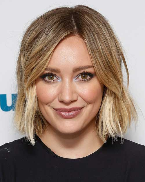 Hilary Duff Short Haircut