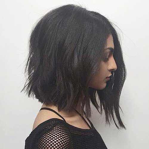 Ladies Beloved Brunette Bob Hairstyles