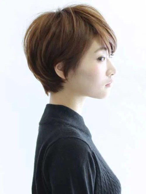 Most Lovely Asian Pixie Cut Pics Short Hairstyles 2017