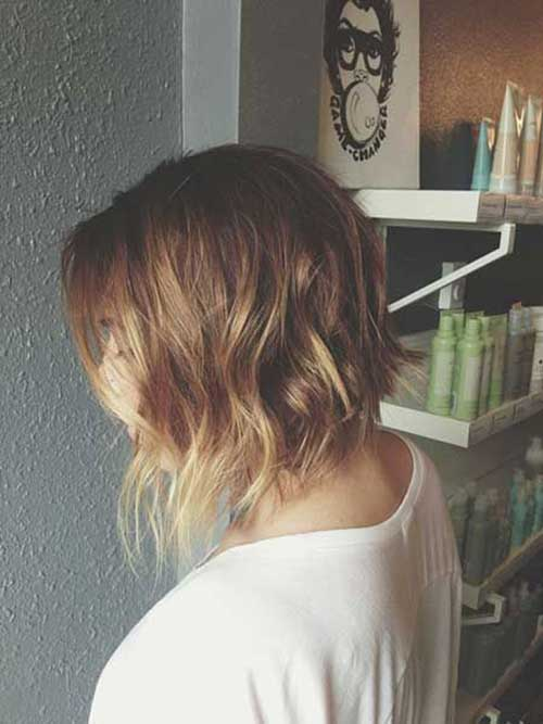 10 Short Hairstyles For Thin Wavy Hair Short Hairstyles