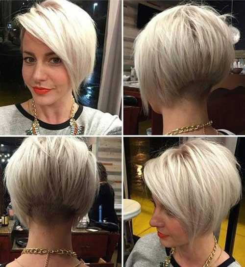 Short Colored Hair Ideas With Different Styles Short