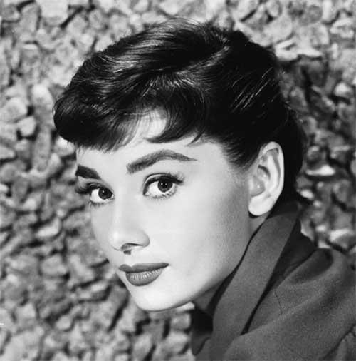 Audrey Hepburn Pixie Cut