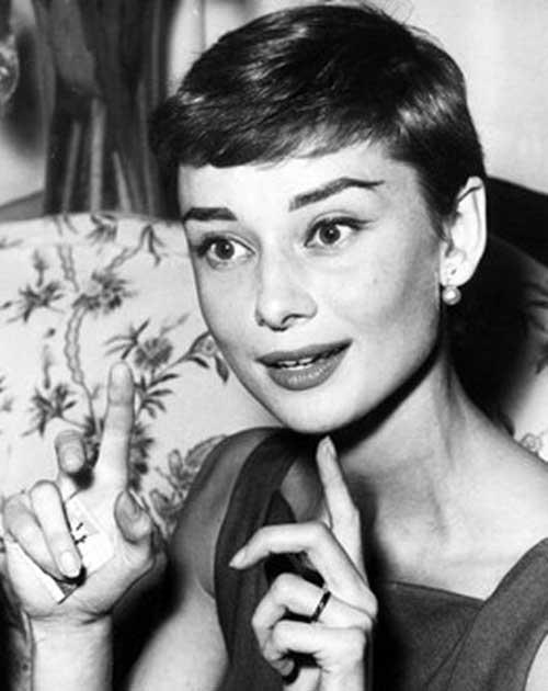 Audrey Hepburn Pixie Style