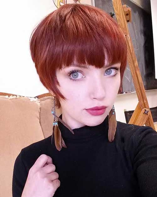 10 Best Pixie Red Hair