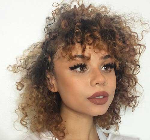 20 Curly Short Hairstyles for Pretty Ladies - crazyforus