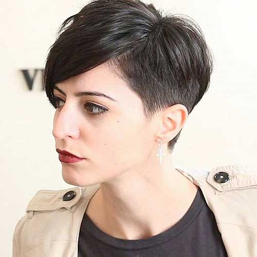 Sophisticated Short Hair Ideas With Bangs Short