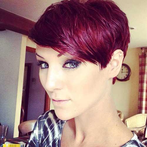 20 Best Red Pixie Hair Short Hairstyles 2017 2018