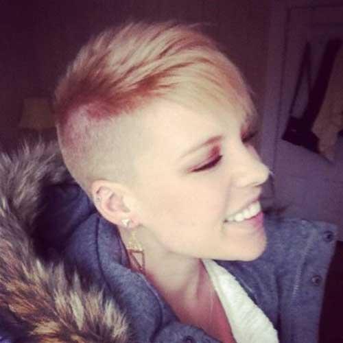 Super Short Hair Ideas On Pretty Ladies Short Hairstyles