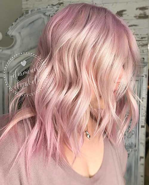Nice Short Pink Hair Ideas For Young Women Short