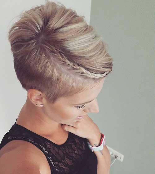 30 Nice Braids For Short Hair Short Hairstyles 2017