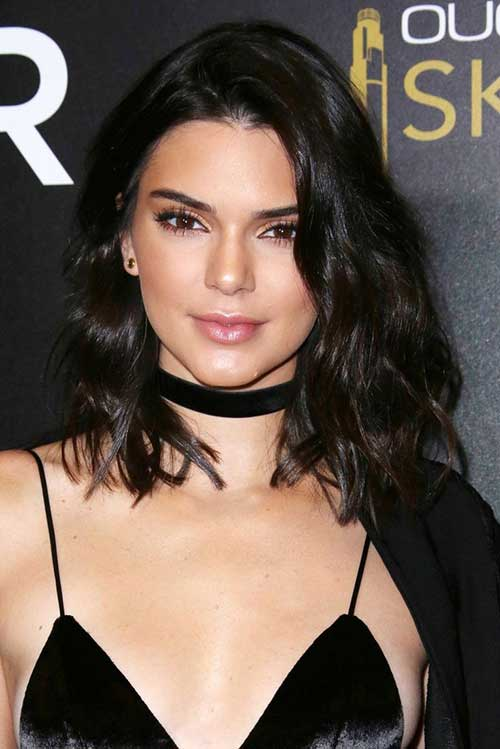 Kendall Jenner with Short Hair