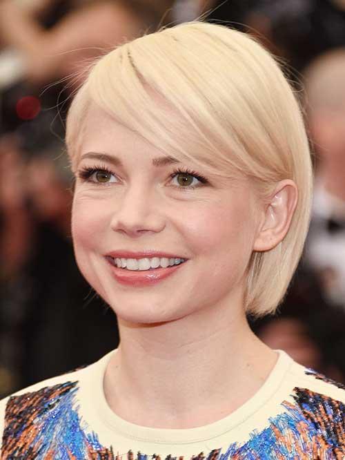Michelle Williams Blonde Short Hair