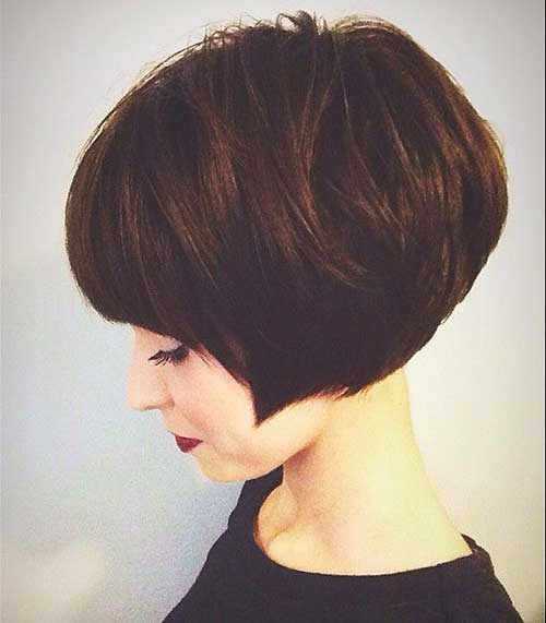 30 Super Short Haircuts With Bangs Short Hairstyles