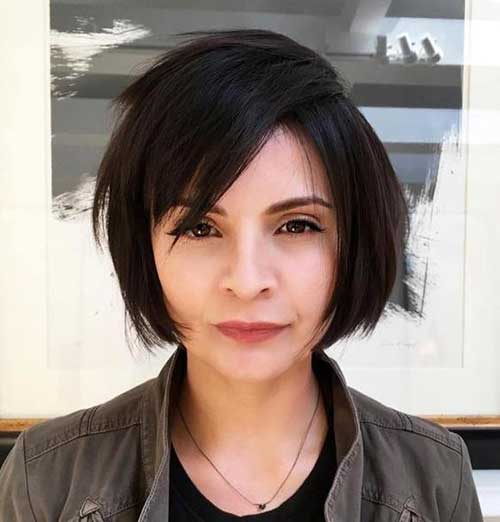 15 Must-See Straight Hairstyles for Short Hair - crazyforus