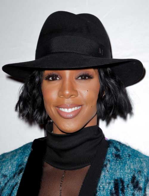 Kelly Rowland Latest Short Hairstyle