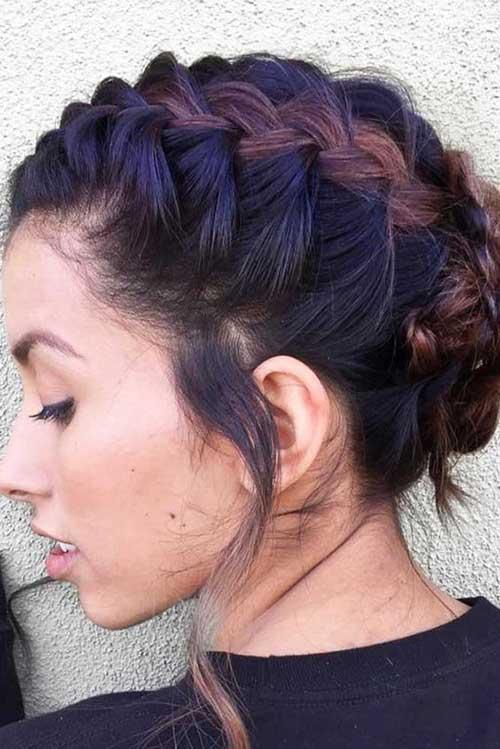 15 Lovable Short Braided Hairstyles Crazyforus