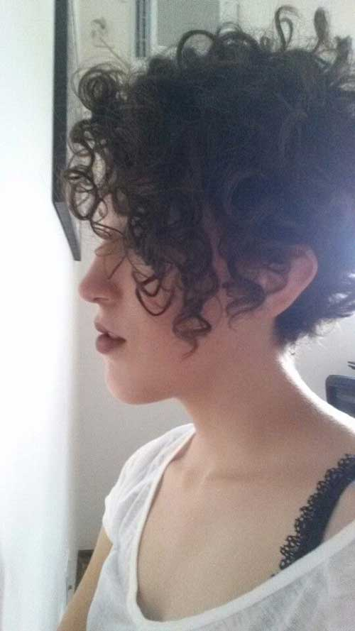 Incredble Curly Pixie Cuts You Will Love Short