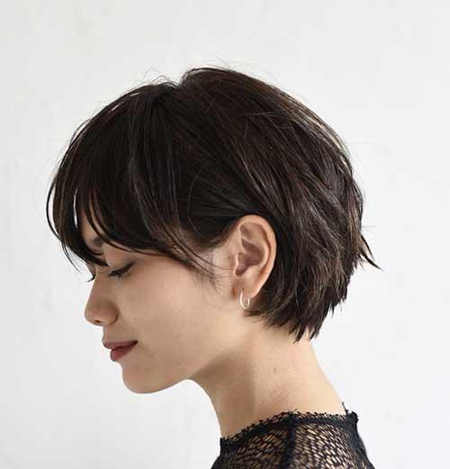 15 Wonderful Brown Short Hairstyles Crazyforus