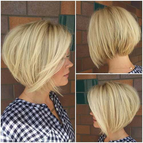17 More Fresh Layered Short Hairstyles For Round Faces Crazyforus