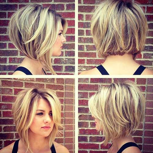 18 Fresh Layered Short Hairstyles For Round Faces Crazyforus