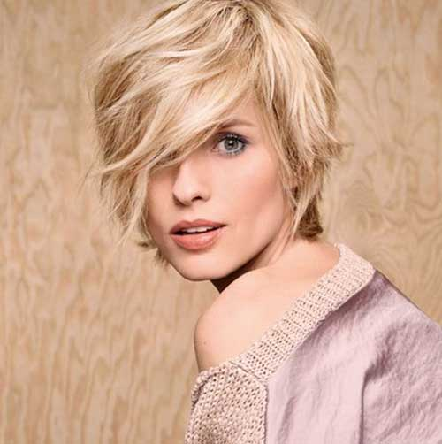 Pixie Bob Short Haircuts for Round Faces