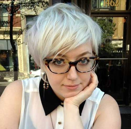 25 Pretty Short Hairstyles for Chubby Round Faces , crazyforus