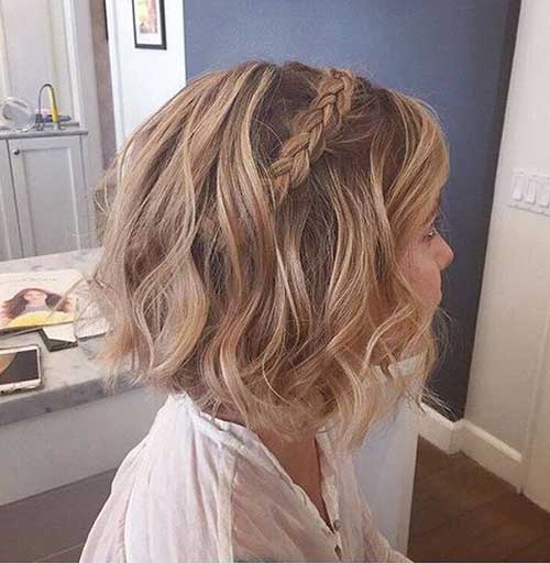 Short Hairstyles Braid