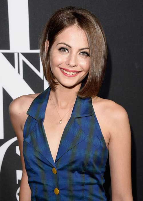 Willa Holland Short Haircut