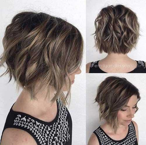 18 Fresh Short Hairstyles For Wavy Hair Crazyforus