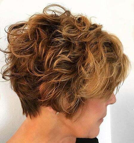 9- Shag Brunette Haircut