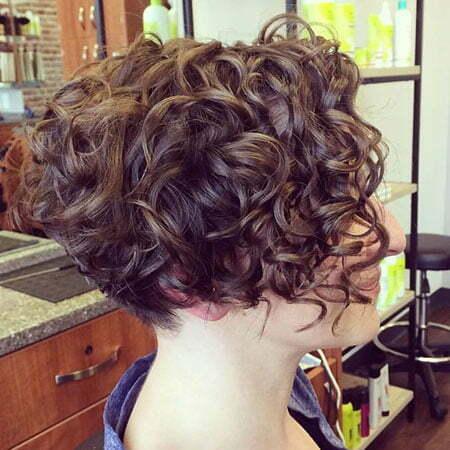 10- Very Short Curly Bob