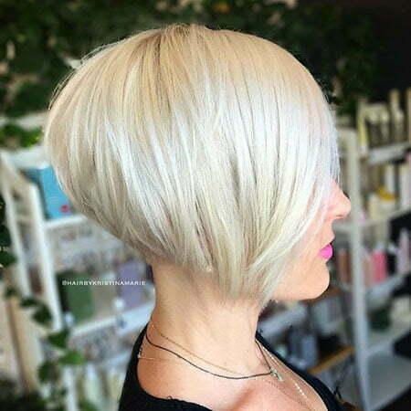 Blonde Haircuts Bob Short