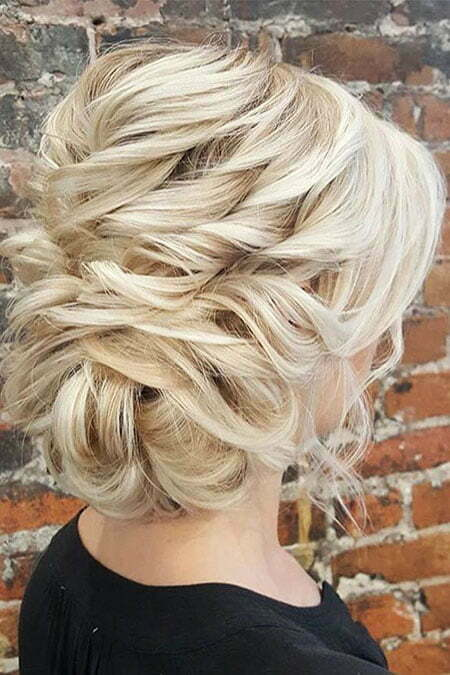 20 Nice Updos For Short Hair Short Hairstyles 2018
