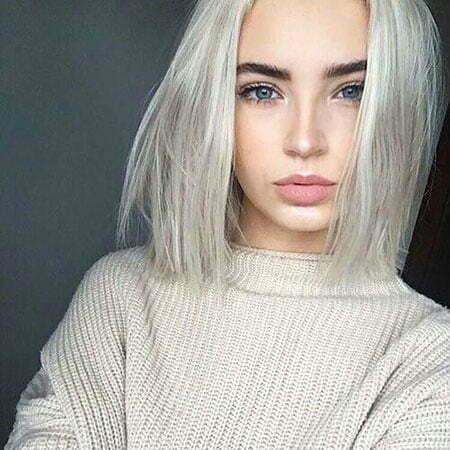 Girl with White Blonde Hair, Hair Short White Girls