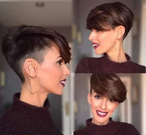 Cute Women with Short Hair