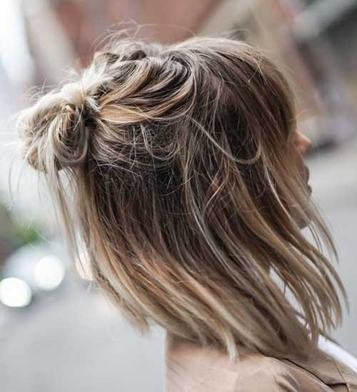 Simple Hairstyle for Short Hair