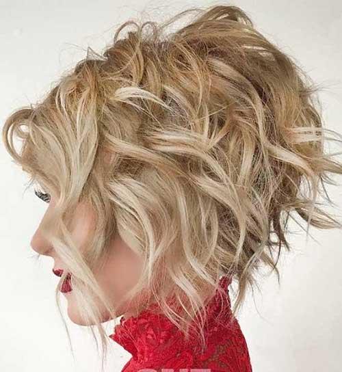 Short Bob Haircuts for Thick Wavy Hair