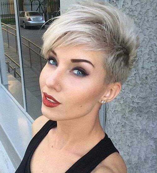 1. Short Sexy Haircut