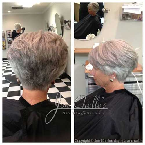 15. Short Stacked Wedge Haircut