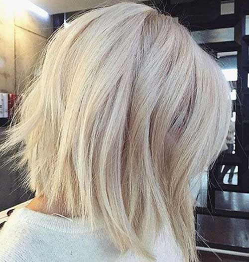 Modern Short Blonde Hairstyles-17