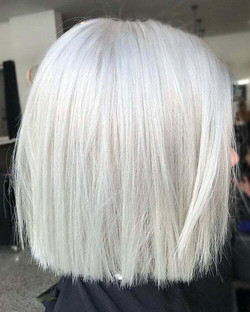 30 New Short White Hair Ideas 2019 Crazyforus