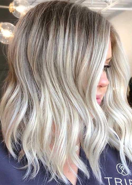 Modern Short Blonde Hairstyles-19
