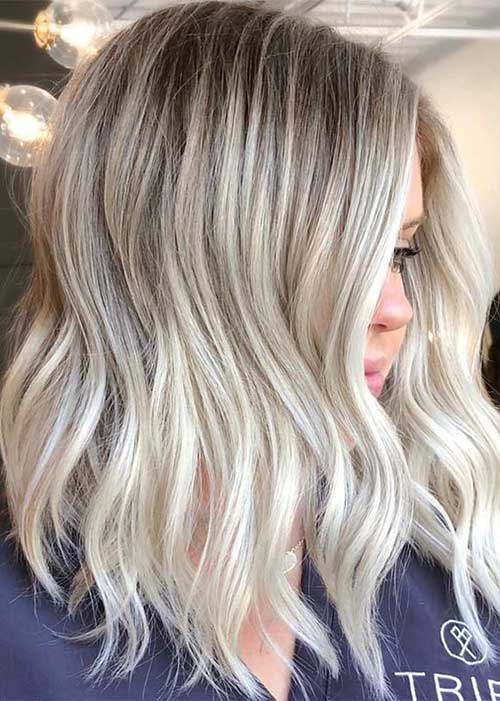 Modern Short Blonde Hairstyles-19