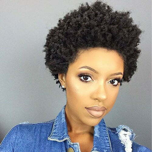 Hairstyles for Short Hair Black Women-26