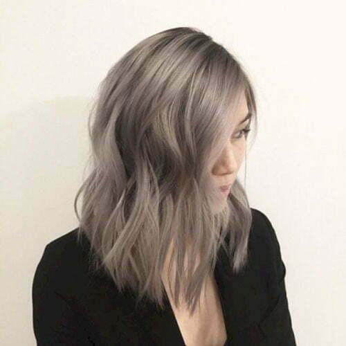 Dark Ash Blonde Short Hair