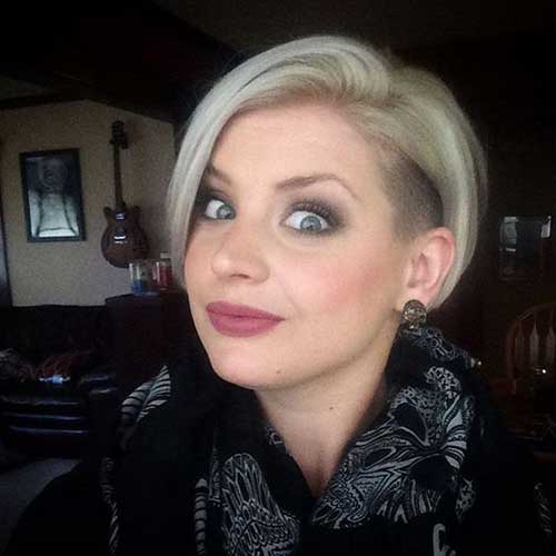 Modern Short Blonde Cute Hairstyles