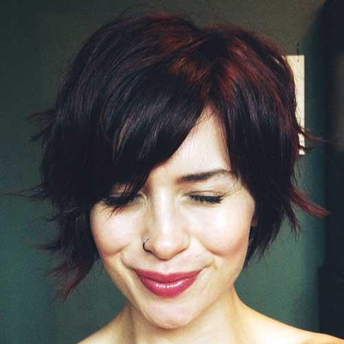 Dark Brown Hair Color Ideas for Short Hair 2019